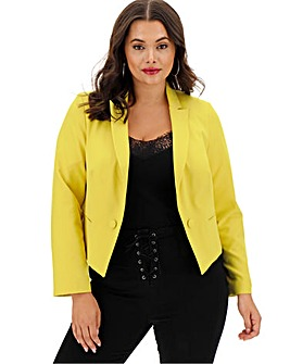 Yellow Fitted Blazer