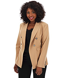 Premium Stretch Camel Trophy Blazer
