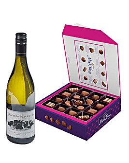 Cadbury Milk Tray And White Wine Set