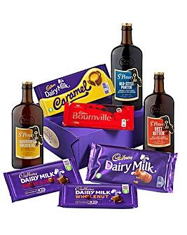 Cadbury Chocolate and Beer Hamper