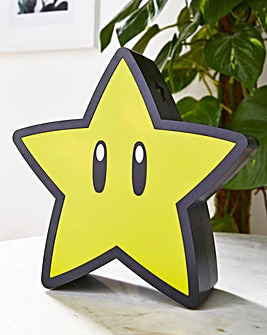 Super Mario Star Light with Projection