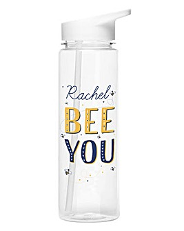 Personalised Bee You Water Bottle