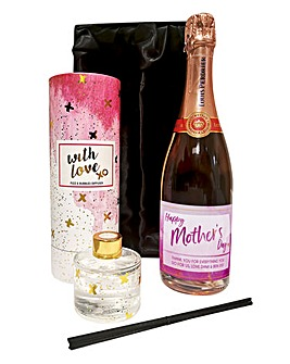 Personalised Prosecco Diffuser Gift Set