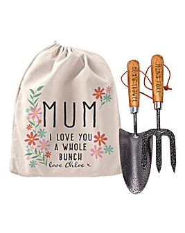 Personalised I Love You A Gardening Set
