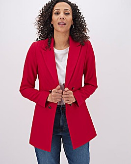 Mix & Match Raspberry Edge to Edge Blazer