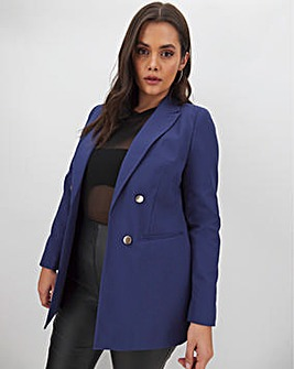 Mix & Match Navy Edge to Edge Blazer