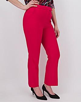 Mix & Match Raspberry Straight Trousers