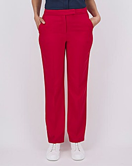 Mix & Match Raspberry Straight Trousers
