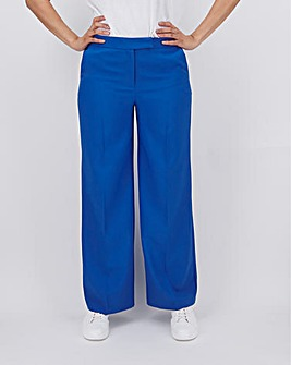 Mix & Match Blue Wide Leg Trousers