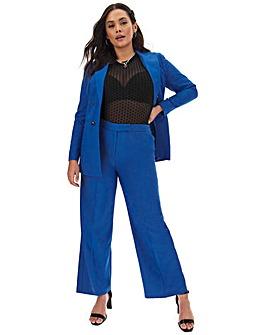 Mix & Match Blue Wide Leg Trousers