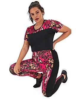 Simply Be Active Printed Legging