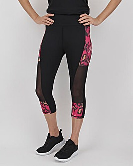 Simply Be Active Printed Capri
