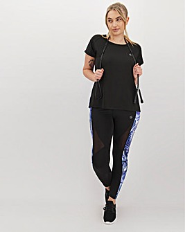 Simply Be Active Marble Print Legging