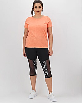 Simply Be Active Print Capri