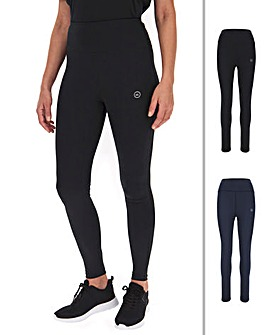 Simply Be Active Basic 2 Pack Gym Leggings