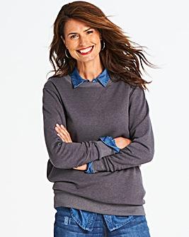 Charcoal Marl Sweatshirt