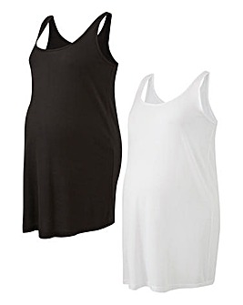 Maternity Pack of 2 Vests