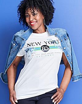 NEW YORK Slogan T-Shirt
