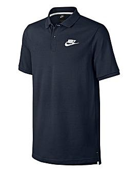 Nike Navy Matchup Pique Polo