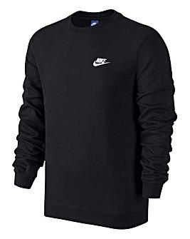 Nike Swoosh Club Crew Neck Sweat Reg