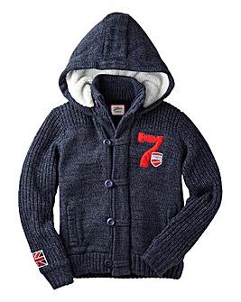 Joe Browns Boys Heavy Fleece Lined Hood