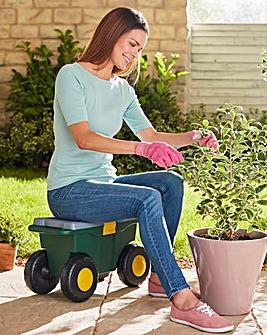 Garden Cart Storage Bin