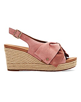 Ugg Espadrille Wedge Sandals