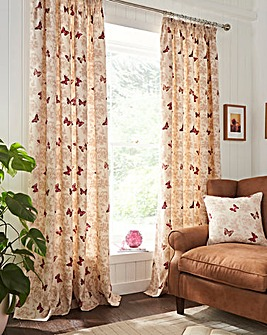 Mariposa Pencil Pleat Lined Curtains