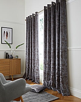 Forbury Luxury Lined Eyelet Curtains