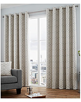 Camberwell Lined Eyelet Curtains