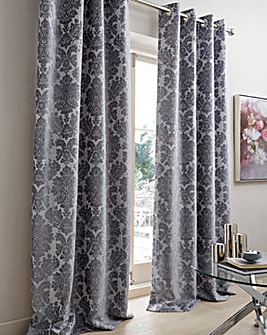 Park Lane Luxurious Chenille Damask Curtains