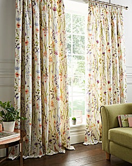 "Hampshire Lined 3"" Pencil Pleat Curtains"