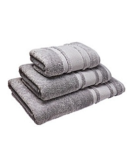 Eco Plush Towel Range- Flint Grey