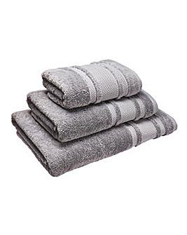 Eco Plush Towel Range- Flint Grey