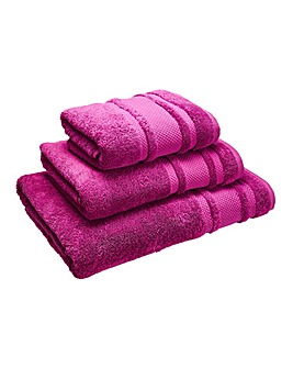 Eco Plush Towel Range- Mauve