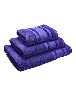 Eco Plush Towel Range- Royal Purple