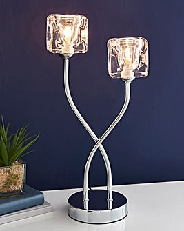 Ice Cube Bedside Table Lamp