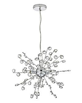 Sputnik 3 Light Fitted Pendant