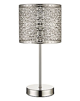 Jai Fretwork Table Lamp