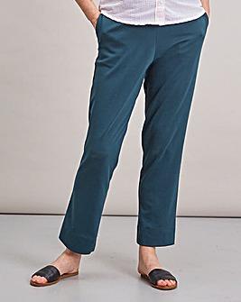 Flavia Ponte Straight Leg Trouser Short