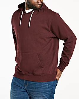 Wine Over Head Hoody Long
