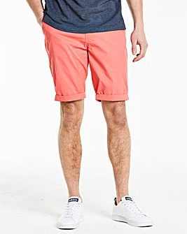 Pink Stretch Chino Shorts