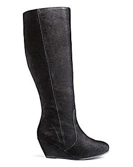Legroom Wedge Boot Standard Leg E Fit