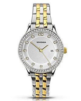 Sekonda Harmony Ladies Two Tone Bracelet Watch