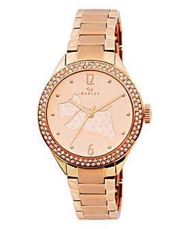 Radley Ladies Rose Tone Bracelet Watch