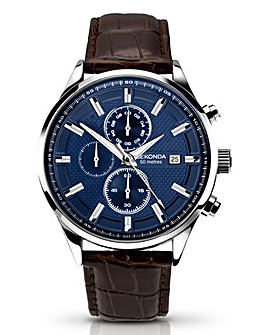 Sekonda Gents Blue Dial Watch