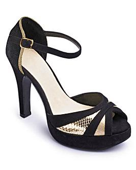 Catwalk Platform Sandals EEE Fit