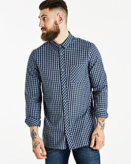 Ben Sherman Windowpane Shirt Long