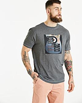 Ben Sherman Guitar Photo Print T-Shirt Long