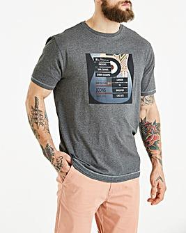 Ben Sherman Guitar Photo Print T-Shirt Reg